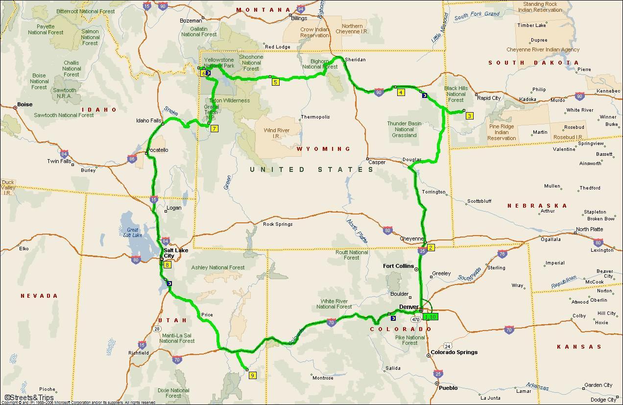Tours Of Munt Rushmor Yellowstone Par